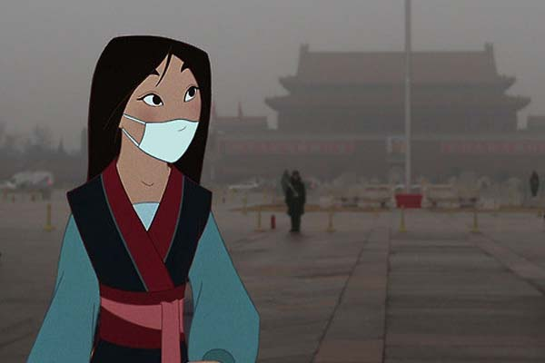 3.) Mulan ... if she had to fight off disease and pollution.