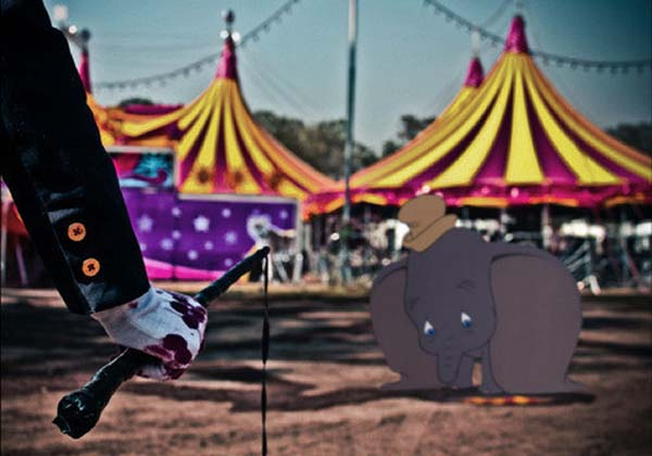 6.) Dumbo ... if he was in a real circus.