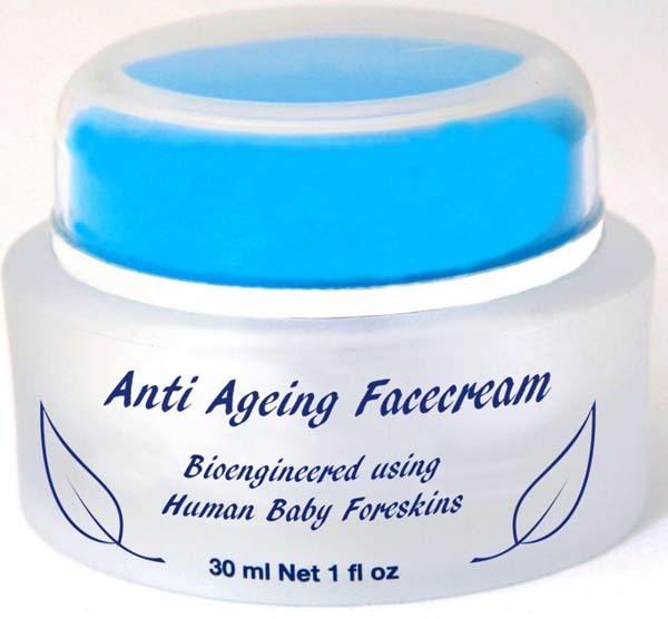 3.) Baby Foreskin Face Cream: NOPE NOPE NOPE NOPE NOPE.
