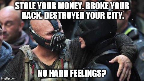 Bane Batman Bromance