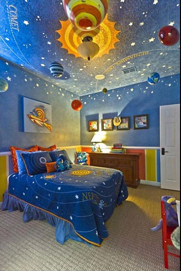 5.) I think this is a room for a future astronaut.