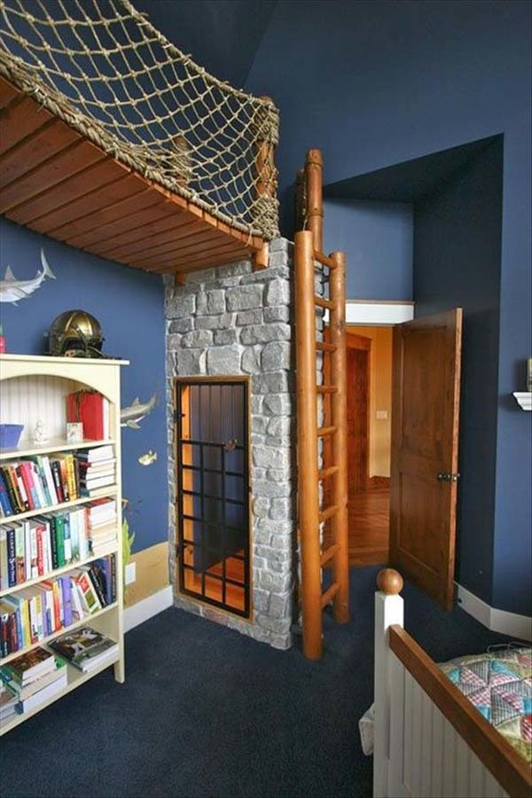 17.) Sigh, the pirate bedroom I'll never have.