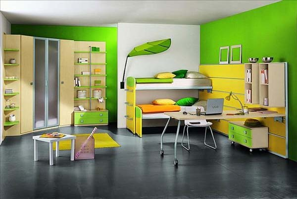 22.) How could any kid want to play outside with a room like this?