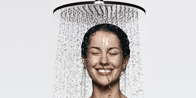5.) Showering every day isn't wrong. Actually it is, you nonbeliever. Showering every day with hot water and a scrubbing apparatus wears away your skin's lipids which help keep your skin's moisture.
