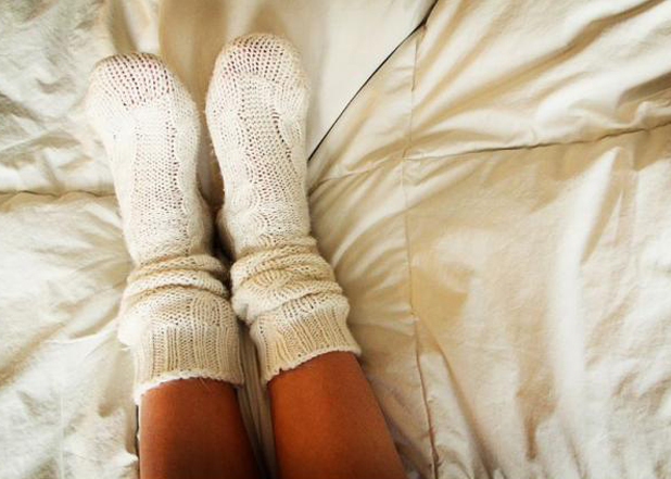 10.) Wearing socks in bed couldn't possibly be wrong. I think it is YOU who couldn't be more wrong. Wearing socks in bed prevents the gaseous exchange of your body's cells which not only damages your skin cells, but your brain cells as well.