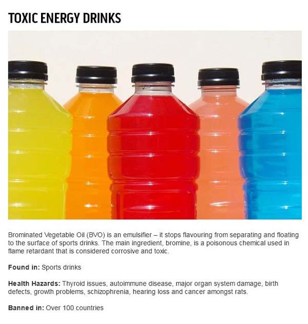 5.) Energy drinks are worse than you thought.