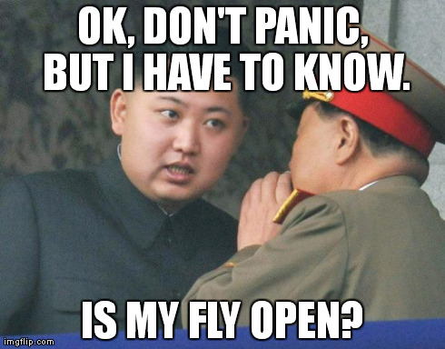 Hungry Kim Jong Un